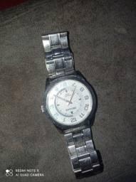 Relógio de prata seculos 100$ e relógio da marca crient 100$