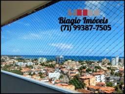 Edf. José Tambone - Apartamento 2/4 - Suíte - Amplo - Armários - Vista mar - 72m²
