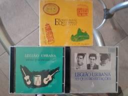 CDs Legião Urbana e Renato Russo