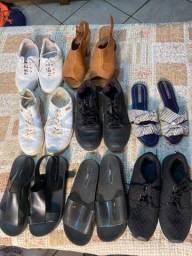 Sapatos, tênis, rasteirinhas