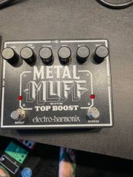 Pedal Metal Muff with Top Boost