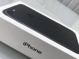 iPhone 7 Preto Fosco 32gb / Completo