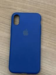 Capinha silicone case iPhone X ou XS