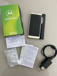 SmartpMotorola Moto G6 Play 32GB Ouro 4G - 3GB RAM Tela 5.7? Câm. 13MP  + Nota Fiscal