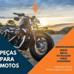 Peças para Motos em Geral - Honda - Yamaha - Diversas Marcas - CG - Biz - YBR - Bros - XRE
