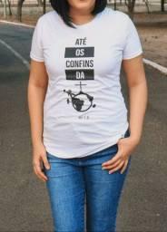 Camiseta cristã 100% algodão