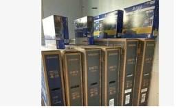 Smart Tv LED 55 4K Samsung Crystal UHD Borda Infinita, Nova lacrada Nota e Garantia