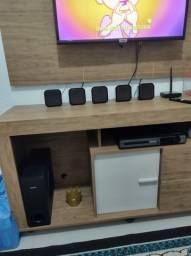 Home theater Philips conservado.