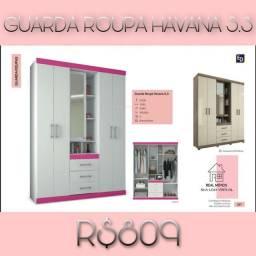 GUARDA ROUPA GUARDA ROUPA HAVANA 5.3