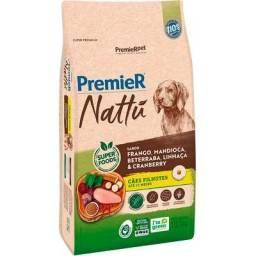 Ração Premier Nattu Cães Filhotes Mandioca 10,1 kg