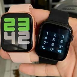 Relógio Smartwatch X8 PRETO E ROSA