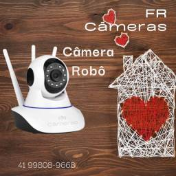 Camera IP interna Wi-Fi visão noturna nova