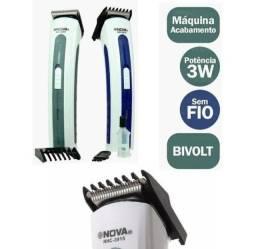 Maquina de corta cabelo recarregável