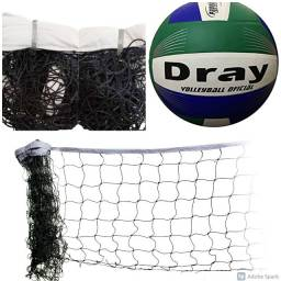 KIt Rede de Voley + Bola de Voley