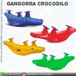 Gangorra Crocodilo - 3 Lugares - Parcelamos em até 3X no cartão