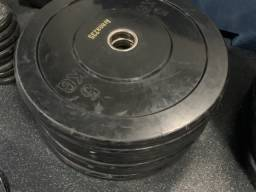 Bumper PLate 5 kg CrossFit otimo estado