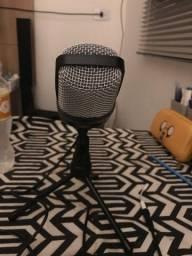 Microfone bom p2 45 reais