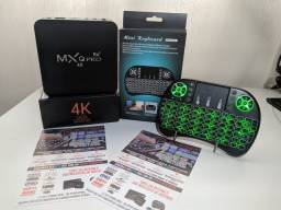TV Box TV Box 6x s/ juros - Transforme sua TV/Smart TV em Android TV Box TV Box Lista