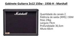 Gabinete Guitarra 2x12 150w - 1936-H - Marshall (somente RJ, ou quem pegar aqui)