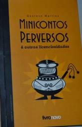 Livro usado - Minicontos Perversos E Outras Licenciosidades (Gustavo Martins)