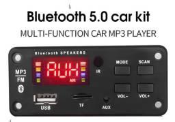 Placa Mp3 Bluetooth Black 9-12v