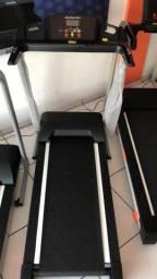 Esteira Athletic speed 12km/h - simulação ladeira - 120kg - % de gordura