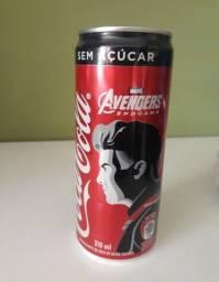 Lata Coca Cola Zero - 1 Lata 310ml do Gavião Arqueiro - Vingadores