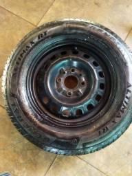1 rodas com pneus
