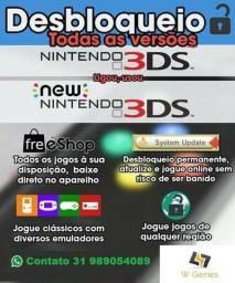 Desbloqueio 3ds/2ds New PS Vita qualquer modelo