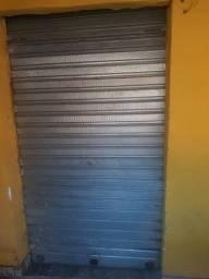 Porta de enrolar aluminio nova