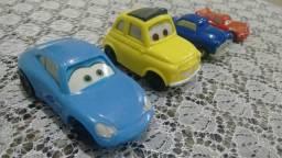 4 Miniaturas do filme Carros