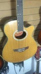 Troco por um violão folk, simples