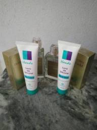 Perfume + Luva de silicone Hinode