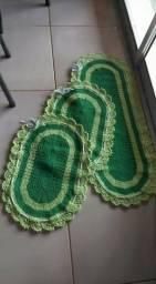 Jogos de tapetes de croché
