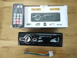 Som automotivo First Option - MP3/USB/SD/Rádio FM