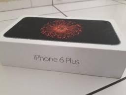 Caixa Iphone 6 Plus e fone