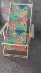 Cadeira de praia seminova r$ 100