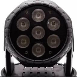 2 MINI MOVING HEAD WASH DE LED 7 DE 12w rgbw