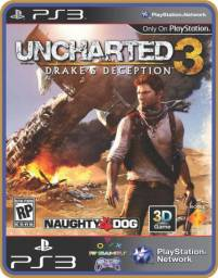 Título do anúncio: Ps3 Drakes deception - Uncharted 3