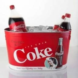 Balde para garrafas Coca Cola
