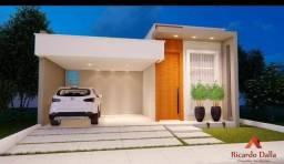 Casa em condomínio em Arapiraca - fase de acabamento