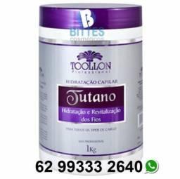 10 Máscaras de 1 Kg Hidratação Capilar Atacado na Promoção Tutano Toollon