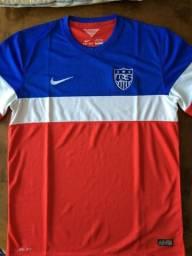 Camisa Estados Unidos - Copa do Mundo 2014 - Original - Tam G ec0d1a12417bd