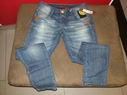 Calça jeans nova Tam 42