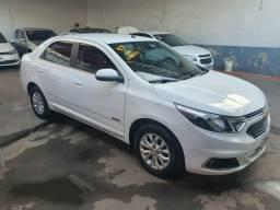 """COBALT ELITE aut. c/ gnv 5"""" geração carro impecável - 2017"""
