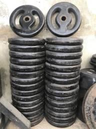Anilhas vazadas 100kg