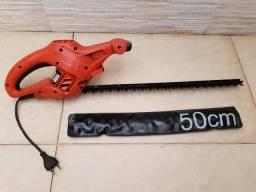 Aparador de Cercas Vivas 50cm 420W Black & Decker - Usado