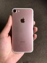 Iphone 7 rose com 32 GB com NF na garantia parcelo no cartao de credito aceito proposta