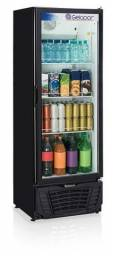 Refrigerador porta de vidro visa cooler 410 litros (novo) Alecs
