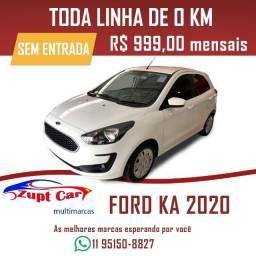 Ford ka 0km 2019/2020 SE Zero entrada oportunidade